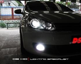 DS Projector Bixenon + DS HID 6000K ( Headlamp ) DS HID 6000K ( Foglamp )