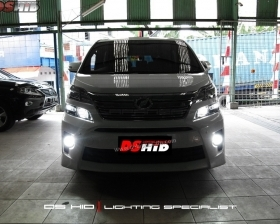 DS HID Replacement Bulb 6000K ( Headlamp ) DS HID 6000K ( Foglamp ) Sillplate Toyota Vellfire