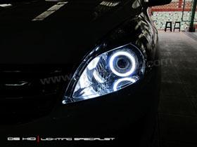 DS Projector Bixenon + DS HID 6000K + Angel Eyes LED