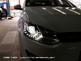 Headlamp Polo DS Version + DS HID 6000K