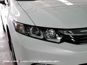 Headlamp Civic DS Version + DS HID 6000K