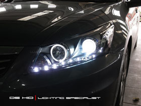 Headlamp Accord DS Version + DS HID 6000K