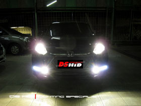 DS HID 4300K ( Headlamp + Foglamp ) DRL Plug N Play Honda HRV