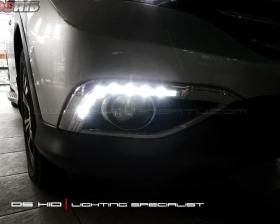 DS HID 6000K + DRL Honda CRV