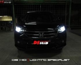 Headlamp DS Version Honda CRV + DS HID 6000K ( Low Beam + High Beam )