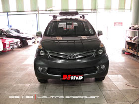 DS Projector Bixenon + DS HID 6000K + Black Housing