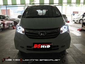 DS Projector Bixenon + DS HID 6000K + Black Housing