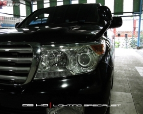 Headlamp Land Cruiser OEM Look + DS HID 6000K