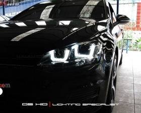 Headlamp DS Version VW Golf Mk7 + DS HID 6000K