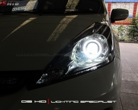 DS Projector + DS HID 6000K + Angel Eyes
