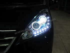 Headlamp Projector Bixenon New Jazz + DS HID 8000K