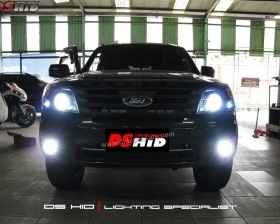 DS Projector Bixenon + DS HID 6000K + Angel Eyes + Blackhousing ( Headlamp ) DS HID 6000K ( Foglamp ) LED Interior