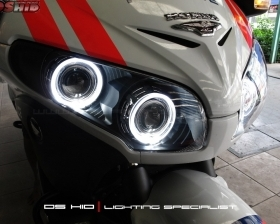 DS Projector Bixenon + DS HID 6000K + Angel Eyes + Blackhousing