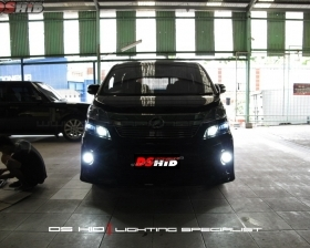 DS HID Replacement Bulb 6000K ( Low Beam ) DS HID 6000K ( Foglamp ) Sillplate Toyota Vellfire