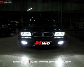 DS HID 6000K + Angel Eyes ( Headlamp ) DS HID 6000K ( Foglamp )