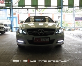 Headlamp DS Version + DS HID 6000K