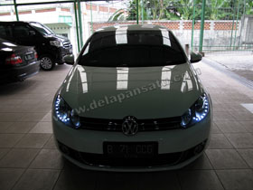 Headlamp Projector Bixenon Golf MK6 + DS HID 6000K