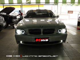 DS HID 6000K ( Headlamp + Foglamp ) Angel Eyes Relacement Bulb BMW