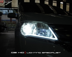 DS Projector AFS + DS HID 6000K + Angel Eyes + LED Strip