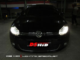 Headlamp DS Version VW Golf MK6
