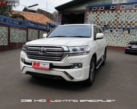 Land Cruiser 2010 Facelift To 2018 Model