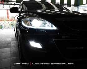 DS HID 6000K + LED Strip ( Headlamp ) DS HID 6000K ( Foglamp )
