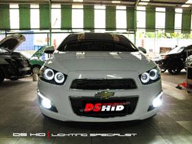 Headlamp Aveo DS Version + DS HID 6000K ( Headlamp ) DS HID 6000K ( Foglamp )