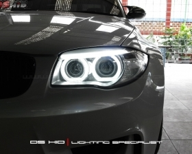 Custom Angel Eyes + LED Alis