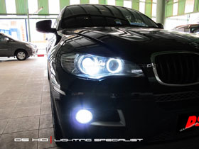 DS HID 6000K ( Headlamp + Foglamp ) Angel Eyes Replacement Bulb BMW X6