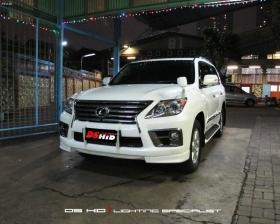 Facelift Lexus LX570