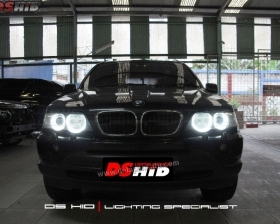 Angel Eyes BMW X5 DS HID 6000K ( Foglamp )