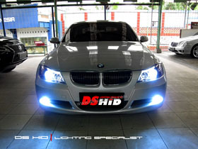 Headlamp BMW E90 + DS HID