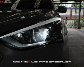 DS Projector Bixenon + DS HID 6000K