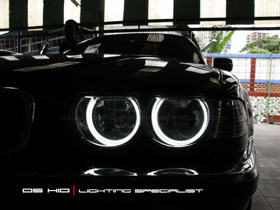 Angel Eyes BMW Seri 7 E38