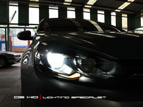 Headlamp VW Golf DS Version + DS HID