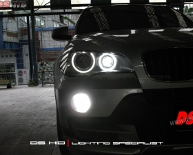 DS HID & Angel Eyes Replacement BMW X5