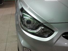 DS Projector Bixenon + DS HID 4300K + Angel Eyes ( Headlamp ) DS HID 3000K ( Foglamp )