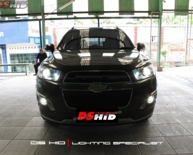 DS HID 6000K ( Low Beam + High Beam + Foglamp )