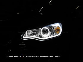 DS Projector Bixenon + DS HID 6000K + LED