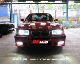 DS HID 6000K + Angel Eyes ( Headlamp ) DS HID 6000K ( Foglamp )