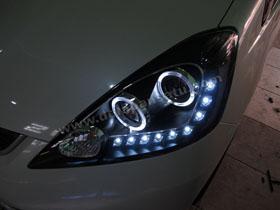 Headlamp Projector Bixenon New Jazz + DS HID 6000K