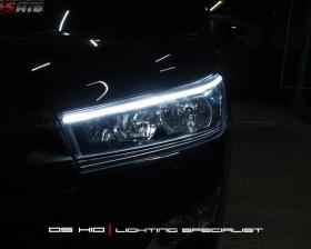 DS HID 6000K + LED Strip ( Headlamp ) DS HID 6000K ( Foglamp )