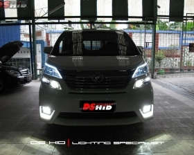 LED Strip ( Headlamp ) DS HID 4300K ( Foglamp )