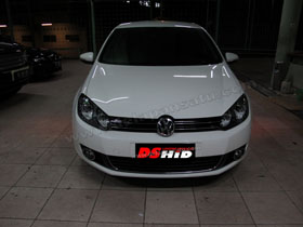 Headlamp Golf MK6  DS HID 6000K ( Low Beam + Foglamp )