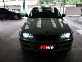 DS Projector Bixenon + DS HID 4300K + Angel Eyes ( Headlamp )