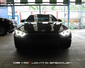 Install M4 Headlamp to 435