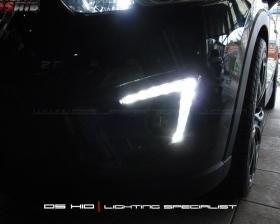DS HID 6000K + DRL Mazda CX5