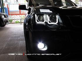 Headlamp Nissan X-Trail DS Version + DS HID 6000K (Headlamp) DS HID 6000K ( Foglamp )
