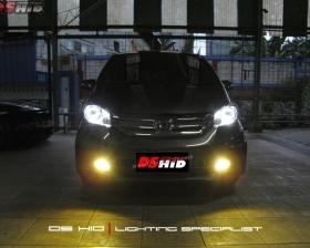 DS Projector Bixenon + DS HID 6000K + Angel Eyes ( Headlamp ) DS HID 3000K ( Foglamp )