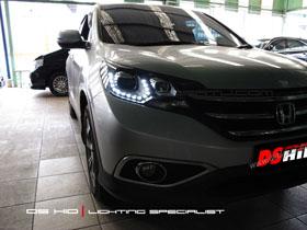 Headlamp Honda CRV DS Version + DS HID 6000K ( Headlamp & Foglamp )